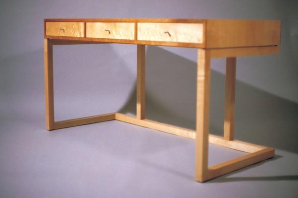 Zen desk roy schack fine furniture for Japanese furniture brisbane